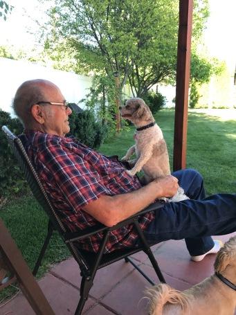 Elsa loves Papa Clayton